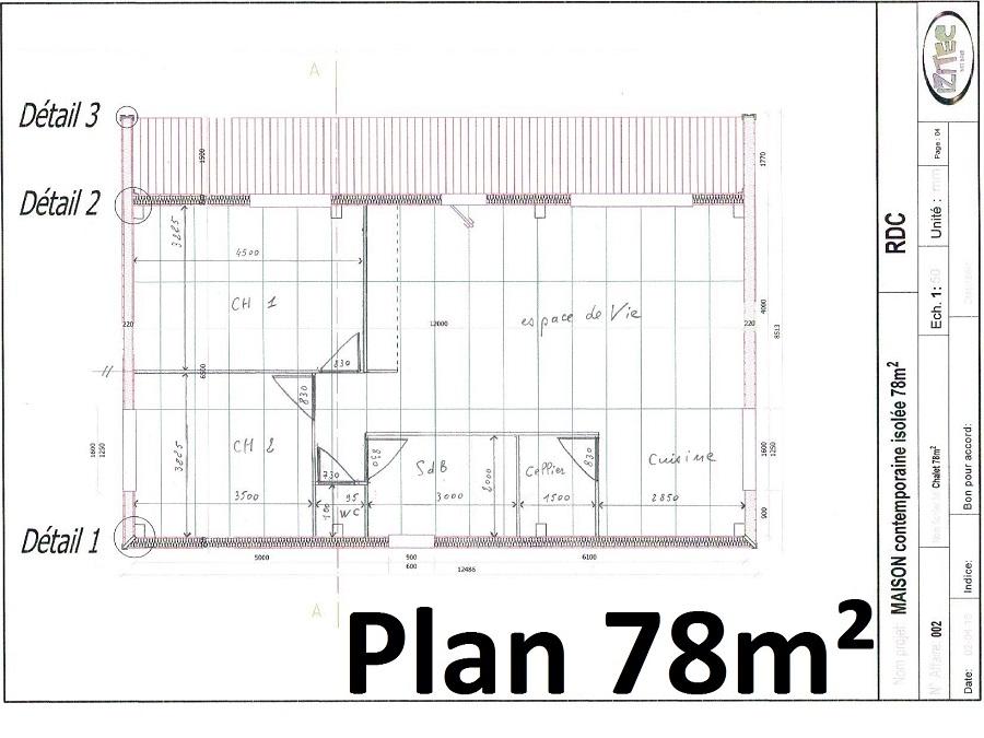 Connu Plan Longere Plain Pied #9: Plan Maison Longere Gratuit | Nipeze.com UV07
